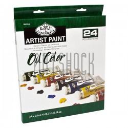 Набор художественных масляных красок, 24 цвета, Royal Langnickel