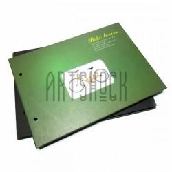 Альбом для скрапбукинга Bike lovers, зелёный 21.5 х 15.5 см.