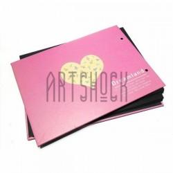 Альбом для скрапбукинга Dream Land, розовый 21.5 х 15.5 см.