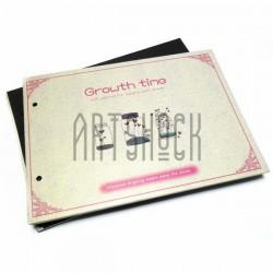 Альбом для скрапбукинга Growth time, 21.5 х 15.5 см.