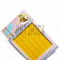 Уголки для альбомов и фотографий в скрапбукинге и кардмейкинге Photo Corners, цвет жёлтый, 102 штуки