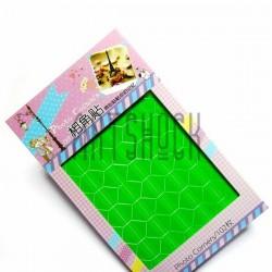 Уголки на клеевой основе для скрапбукинга Photo Corners, цвет зеленый, 102 штуки
