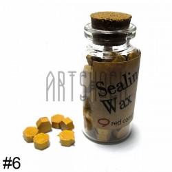Сургуч декоративный золотой для печатей в таблетках, 60 - 70 штук