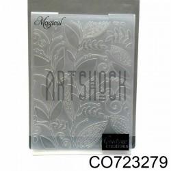 """Папка для тиснения эмбоссинг для скрапбукинга Magical"""", размер 10.5 х 14.3 см., Couture Creations"""""""