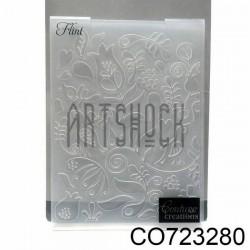 """Папка для тиснения эмбоссинг для скрапбукинга Flint"""", размер 10.5 х 14.3 см., Couture Creations"""""""