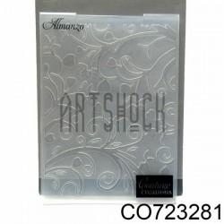"""Папка для тиснения эмбоссинг для скрапбукинга Almanzo"""", размер 10.5 х 14.3 см., Couture Creations"""""""