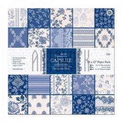 "Набор бумаги для скрапбукинга ""Parisienne Blue Capsule Collection"", Docrafts"