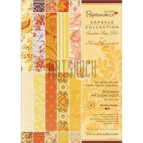 "Набор бумаги для скрапбукинга ""Sunshine Paper Pack by Lina Liggins"", Papermania"