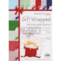 "Набор текстурной бумаги для скрапбукинга ""Gift Wrapped Paper Pack"", Papermania"
