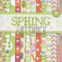 """Набор бумаги для скрапбукинга """"Spring"""", Docrafts"""