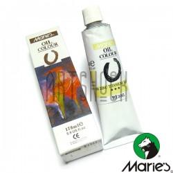 Краска художественная масляная, белила цинко - титановые, 106, туба 170 мл., Maries