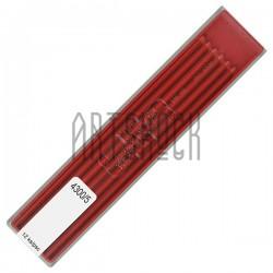 Красные грифели (стержни) для цангового карандаша, Ø2 мм., COLORAMA, Koh-I-Noor