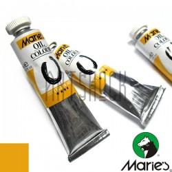 Краска художественная масляная, желтый средний, 227, туба 50 мл., Maries