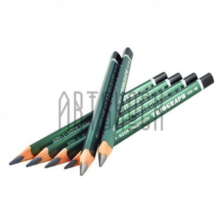Карандаш графитовый (чернографитный) TRIOGRAPH Graphitel, 4B, Koh-I-Noor