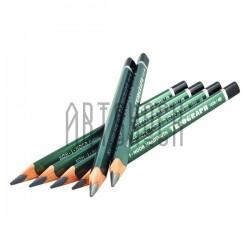 Карандаш графитовый (чернографитный) TRIOGRAPH Graphitel, 6B, Koh-I-Noor