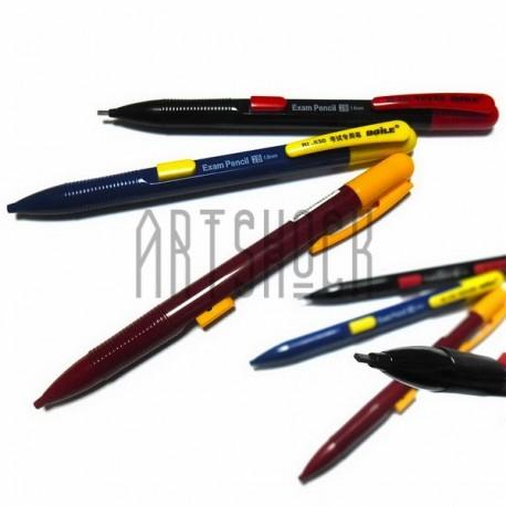 Механический автоматический карандаш с плоским стержнем, 1.8 мм., 2B, Baile