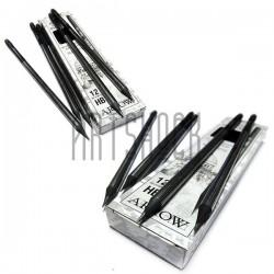 Набор чернографитных карандашей Arrow с резинкой, HB, 12 штук, Hatber