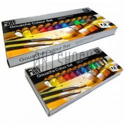 Набор художественных гуашевых красок, 12 цветов по 12 мл., Art Nation