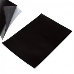 Магнитный винил (гибкий магнит) с клейким слоем, А4, р-р: 29.8 x 21.2 см., толщина 1 мм.