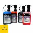 Заправка (чернила спиртовые) для маркера, 34 yellow, Superior