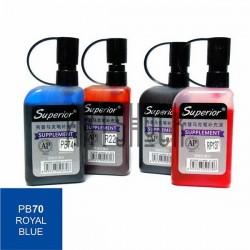 Заправка (чернила спиртовые) для маркера, 70 royal blue, Superior