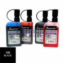 Заправка (чернила спиртовые) для маркера, 120 black, Superior