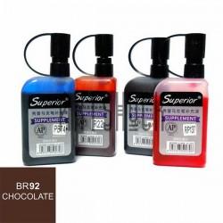 Заправка (чернила спиртовые) для маркера, 92 chocolate, Superior