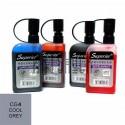Заправка (чернила спиртовые) для маркера, CG4 cool grey, Superior