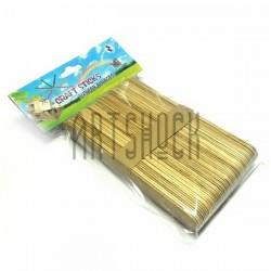 Набор декоративных палочек деревянных для рукоделия (палочки для мороженого), Craft Sticks