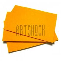 """Фетр для поделок и рукоделия """"Апельсиновый"""", 1 мм., 20 х 30 см."""