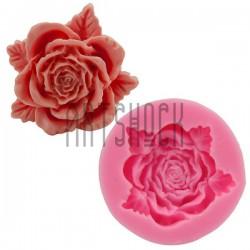 Силиконовый молд 3D (вайнер), цветок, размер Ø5 см., толщина 1.5 см., REGINA