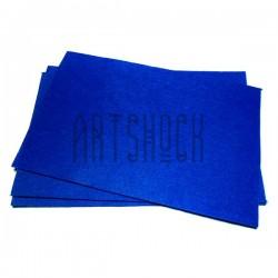 """Фетр для поделок и рукоделия """"Синий"""", 1 мм., 20 х 30 см."""