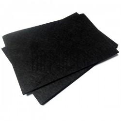 """Фетр для поделок и рукоделия """"Чёрный"""", 2 мм., 20 х 30 см."""