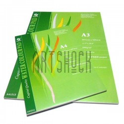 Альбом - склейка бумаги для акварели, 297 x 420 мм., 230 гр./м2., 12 листов, CONDA