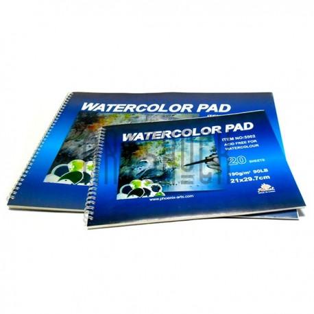 Папка-альбом для акварели А4, 210х297 мм., Phoenix