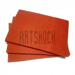"""Фетр для поделок и рукоделия """"Морковный"""", 2 мм., 20 х 30 см."""