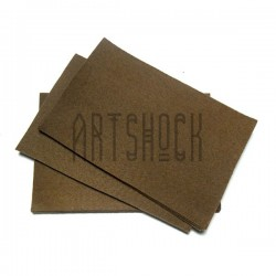 """Фетр для поделок и рукоделия """"Светло - коричневый"""", 2 мм., 20 х 30 см."""