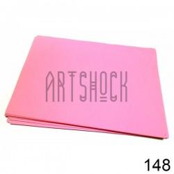 Фоамиран розовый (пластичная замша), толщина 0.5 мм., 21 х 30 см.