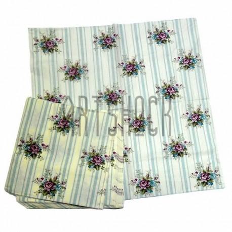 """Салфетка для декупажа """"Фиолетовые Крокусы"""", 33 x 33 см., 20 штук, REGINA"""