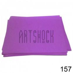 Фоамиран фиолетовый (пластичная замша), толщина 0.5 мм., 21 х 30 см.