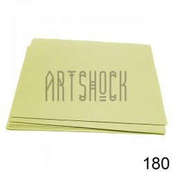 Фоамиран светло - серый (пластичная замша), толщина 0.5 мм., 21 х 30 см.
