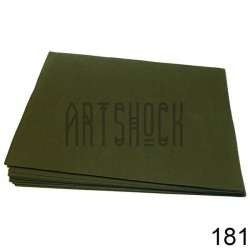Фоамиран серый (пластичная замша), толщина 0.5 мм., 21 х 30 см.