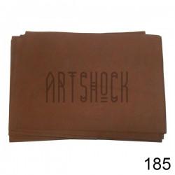 Фоамиран коричневый (пластичная замша), толщина 0.5 мм., 21 х 30 см.