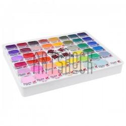 Набор художественной акриловой гуаши, 44 цвета по 50 мл., + 4 белила по 18 мл., Art Nation