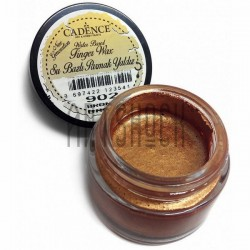 Воск для золочения Finger Wax, Bronze / Бронза, 20 мл., CADENCE