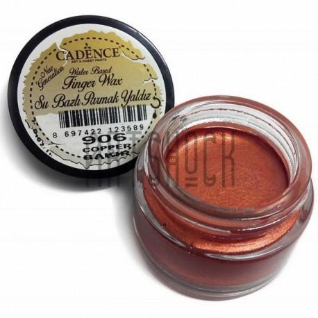 Воск для золочения Finger Wax, Copper / Медь, 20 мл., CADENCE арт.: 906