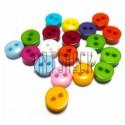 Набор пластиковых декоративных мини - пуговиц, Ø6 мм., 20 штук, REGINA