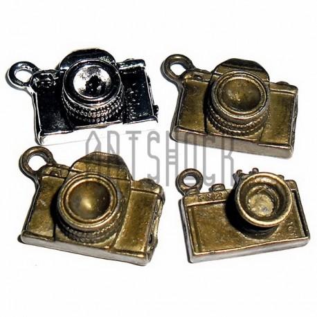 """Набор металлических подвесок """"Фотоаппараты"""" для скрапбукинга, 4 штуки, REGINA"""