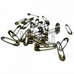 """Набор металлических декоративных булавок, """"античная латунь"""" для скрапбукинга, 2 см., 30 штук, REGINA"""
