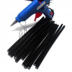 Термоклей ( клеевые палочки )  для термопистолета, черный, (80 гр., Ø7 x 200 мм.), 10 штук